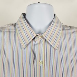 Brooks Brothers Slim Fit Non Iron Striped 16.5-36